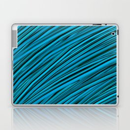 Blades of Grass Blue and Green Laptop & iPad Skin