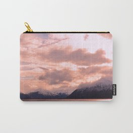 Rose Quartz Over Hope Valley Carry-All Pouch