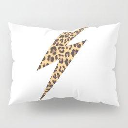 Wild Thing Leopard Lightning Bolt Pillow Sham