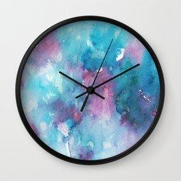 Watercolor #121 Wall Clock