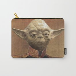 General Yoda Portrait Painting On Canvas | Fan Art Carry-All Pouch