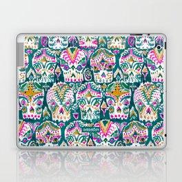 CARPE DIEM SKULLS - EMERALD Laptop & iPad Skin