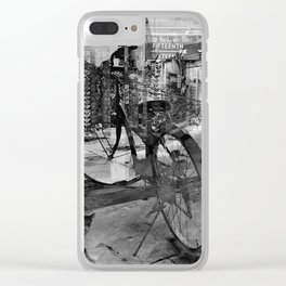 Transportation Clear iPhone Case