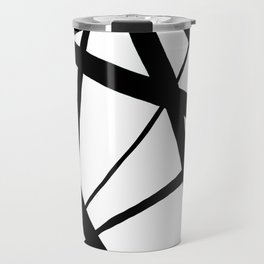 A Harmony of Lines and Shapes Travel Mug