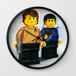 Beam Me Up Scotty Wall Clock