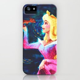 Princess Aurora Van Gogh iPhone Case