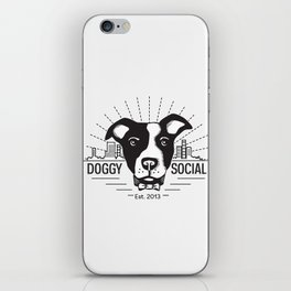 Doggy Outlines iPhone Skin