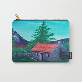 Red Roof Cottage Carry-All Pouch