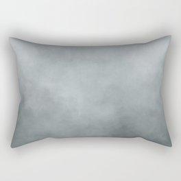 Grey Blue Grunge Rectangular Pillow