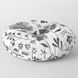 GARDEN GRAY Floor Pillow