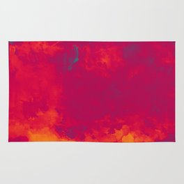 Red as Passion Rug