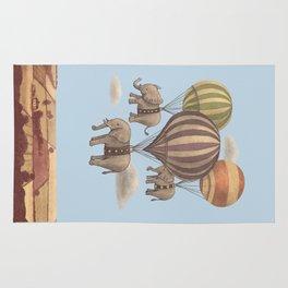 Flight of the Elephants - colour option Rug