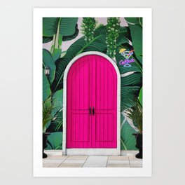 This Way to Happy Hour Art Print