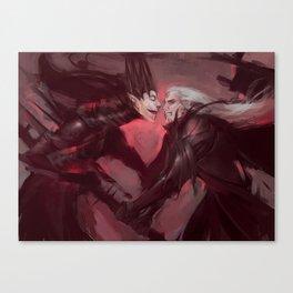 Melkor&Sauron Canvas Print