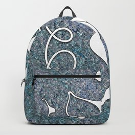 Walk This Wavy Backpack