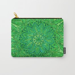 mandala of greenery Carry-All Pouch