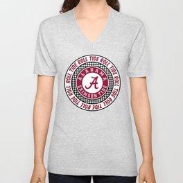 Alabama University Roll Tide Crimson Tide Unisex V-Neck