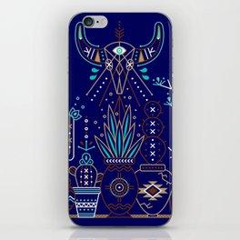 Santa Fe Garden – Navy iPhone Skin