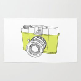 Diana F+ Glow - Plastic Analogue Camera Rug