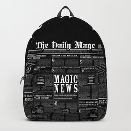 The Daily Mage Fantasy Newspaper II Backpack