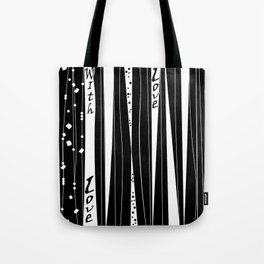 With love . Tote Bag