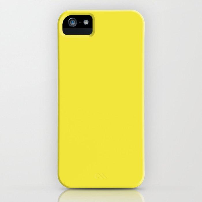 Tropical Sunshine Yellow #society6 iPhone Case