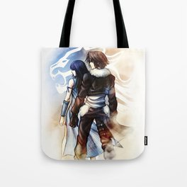 Squall and Rinoa - Griever Tote Bag