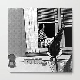Shazam x Looney Tune Metal Print