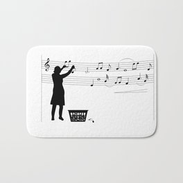 Making music Bath Mat