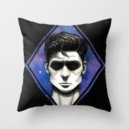 Galaxy Shadow Throw Pillow