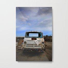 My First Farm Truck Metal Print