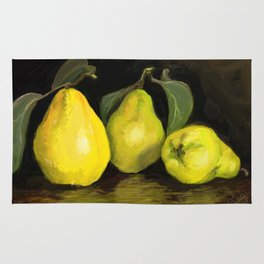 Quinces the fruit of love Rug