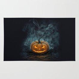 Halloween Pumpkin Rug