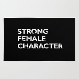 Strong Female Character Rug