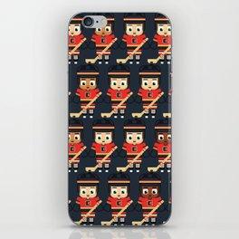 Super cute sports stars - Ice Hockey Red, Yellow and Black iPhone Skin