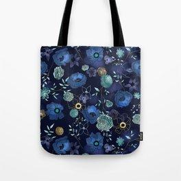 Cindy large floral print Tote Bag