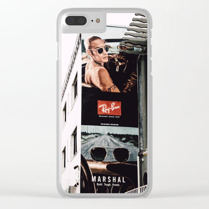 billboard Clear iPhone Case