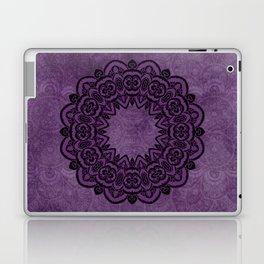 Circle in Purple Laptop & iPad Skin