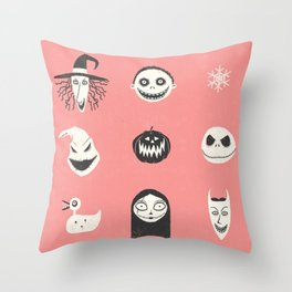 This is Halloween Throw Pillow