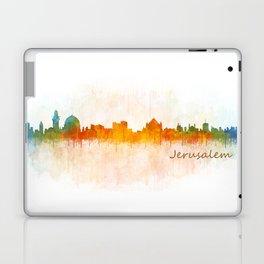 Jerusalem City Skyline Hq v3 Laptop & iPad Skin
