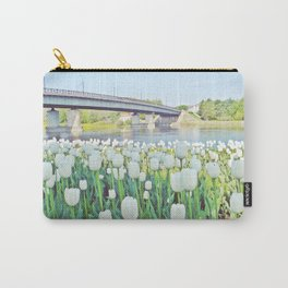 Tulips' Flowerbed Carry-All Pouch