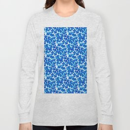 Forget-me-not Flowers White Background #decor #society6 #buyart Long Sleeve T-shirt