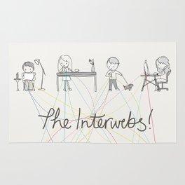 The Interwebs!  |  By Sisley Leung Rug