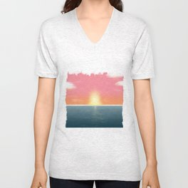 Peaceful Current Unisex V-Neck