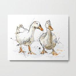 Gooses friends Metal Print