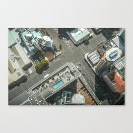 Sky Tower View Canvas Print