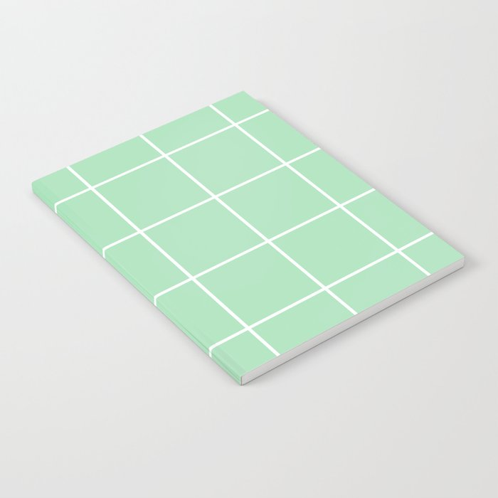 Grid pattern on carnival glass Notebook
