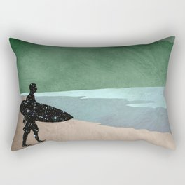 The Surfer Rectangular Pillow