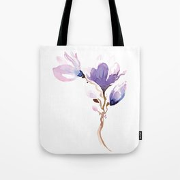 Magnolias at night Tote Bag