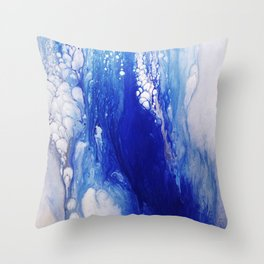 The Plunge Throw Pillow
